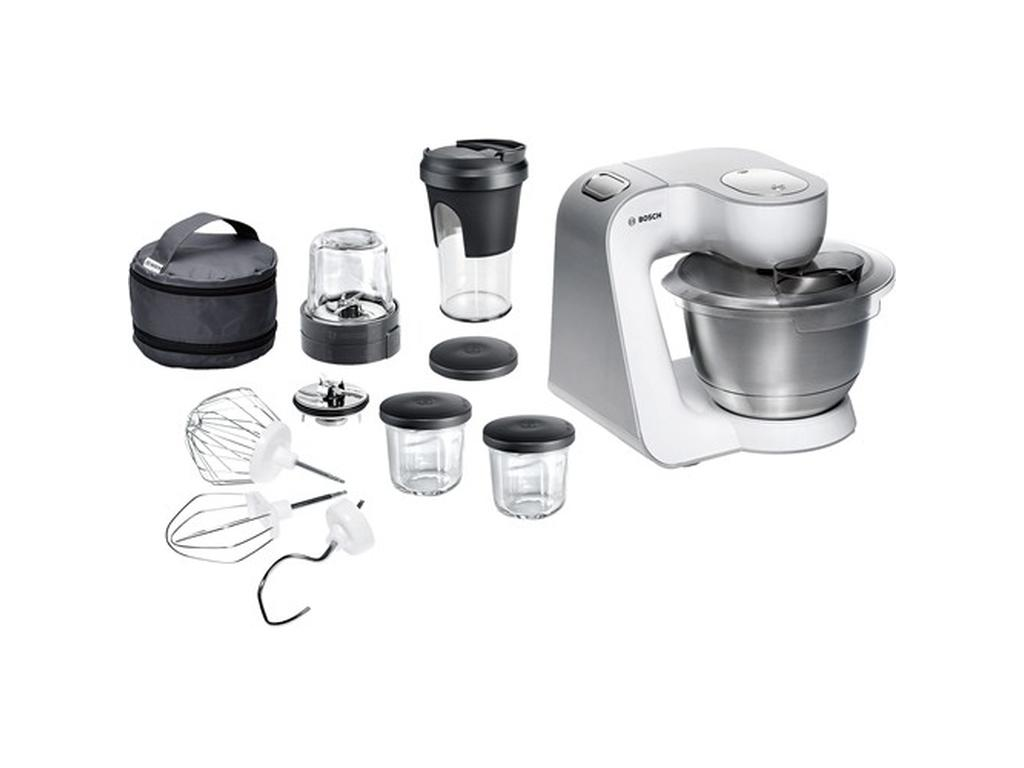 Bosch Kuchenmaschine Mum 54211 Weiss Silber